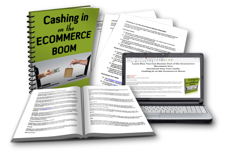 Online Marketing - Cashing in on the Ecommerce Boom PLR